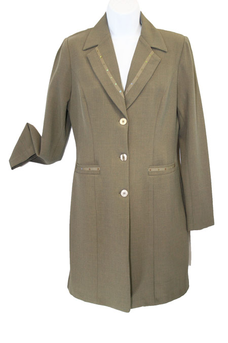 Long Jacket with Lining