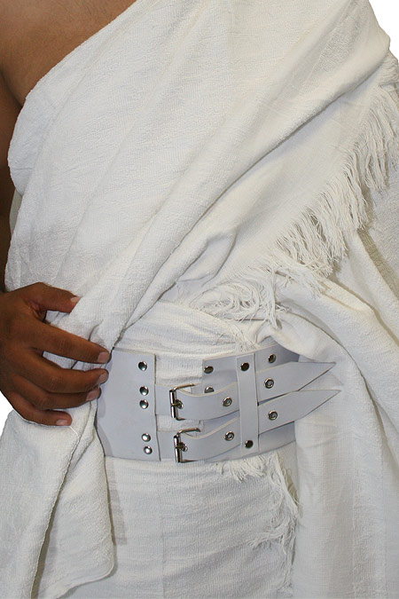 3-Piece set (Ihram with belt - no stiches 100% cotton)