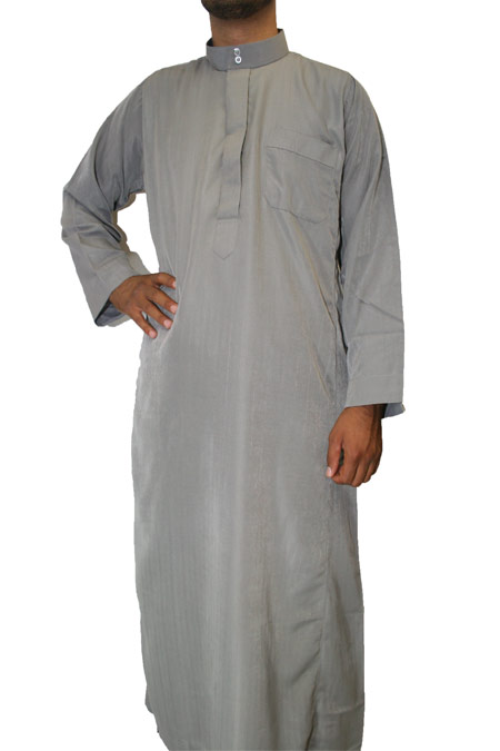 Al Dafah Thowb with pocket on the sides (100% polyester)