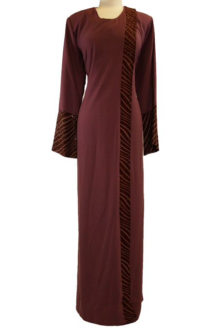 Color Open Abaya