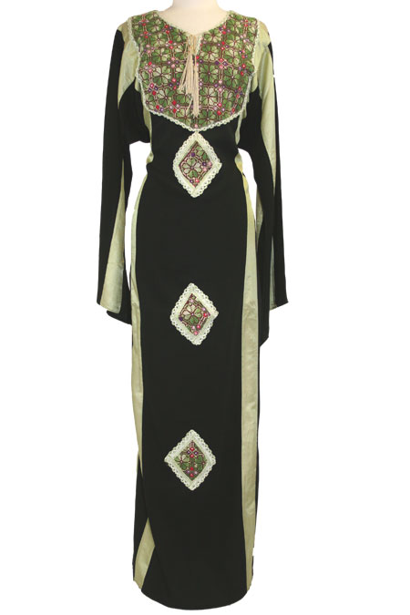 Palestinian Dress with Heavy Design Work